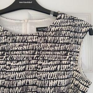NWOT Marimekko Milana Dress (ecru)